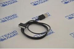 Кабель 30-pin Samsung - USB черный